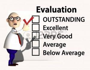 Resultados de la evaluación del desempeño