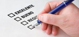 Características de la evaluación del desempeño