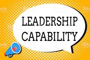 Capacidad y liderazgo