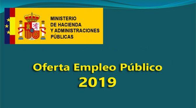 Oferta de empleo público 2019. Más empleados, pero también más eficientes